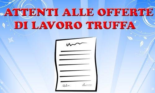 Truffe lavoro: anticipare soldi (a vario titolo) per LAVORARE all'estero? TRUFFA!
