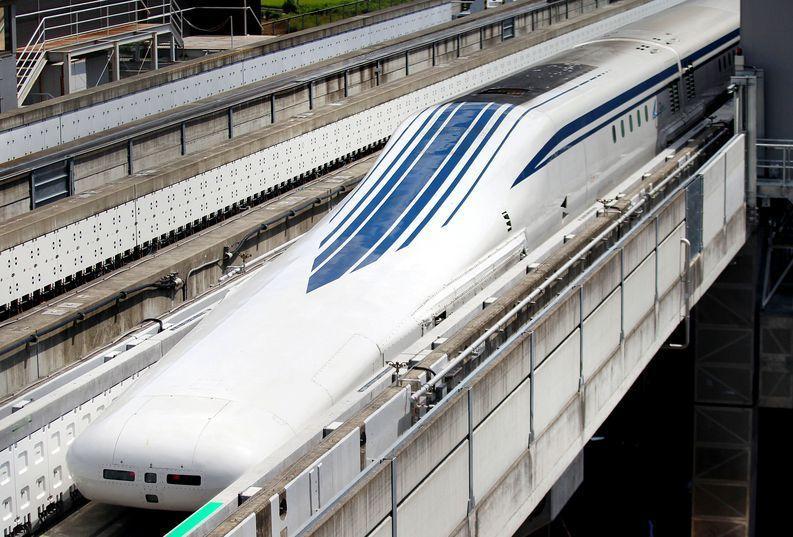 treno levitazione giapponese