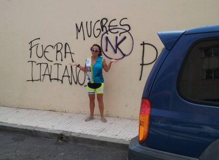 """""""Fuori gli italiani"""" – """"inutili"""" la scritta su un muro di Tenerife"""