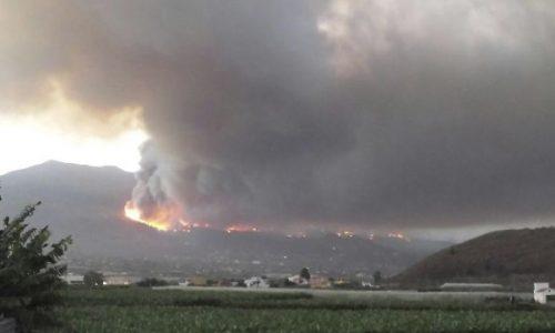 Tragedia alle Canarie: la Isla Bonita avvolta dalle fiamme da mercoledì