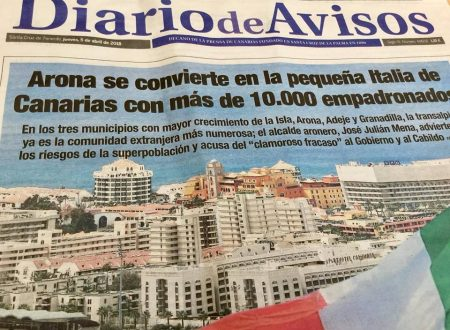 Il sud di Tenerife diventa la piccola Italia delle Isole Canarie