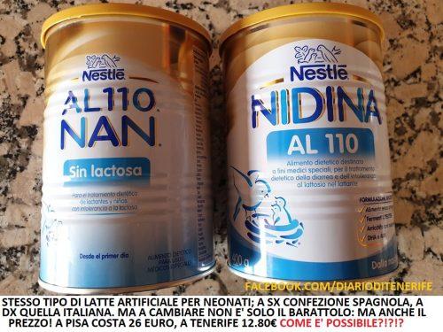 Perché il latte artificiale per neonati in Italia costa il DOPPIO?!?!?