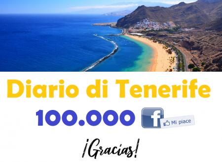 Diario di Tenerife supera quota 100.000 iscritti su Facebook!