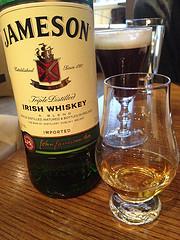 Jameson Irish Whiskey and Irish Coffee