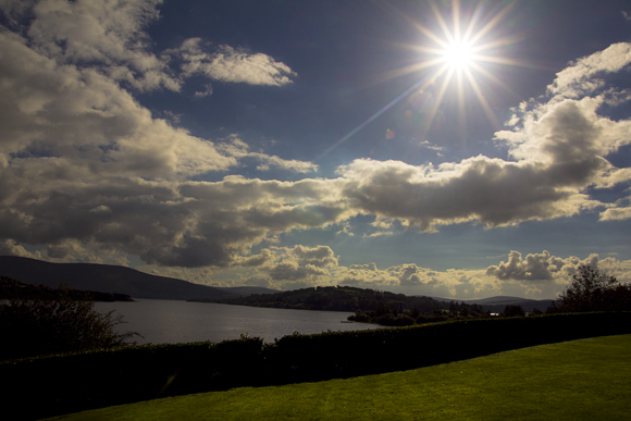 Blessington Lakes, panorama