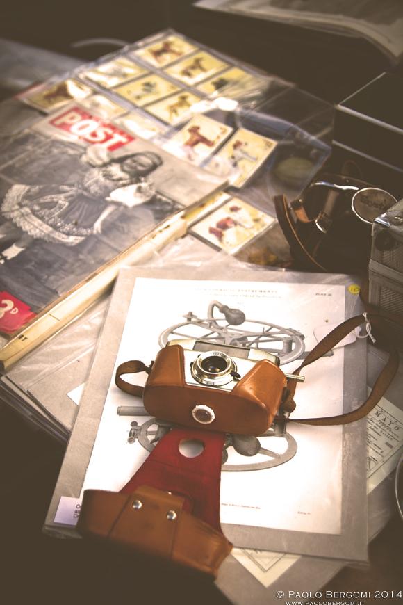 Mercatino dell'usato in Temple Bar (foto Paolo Bergomi)