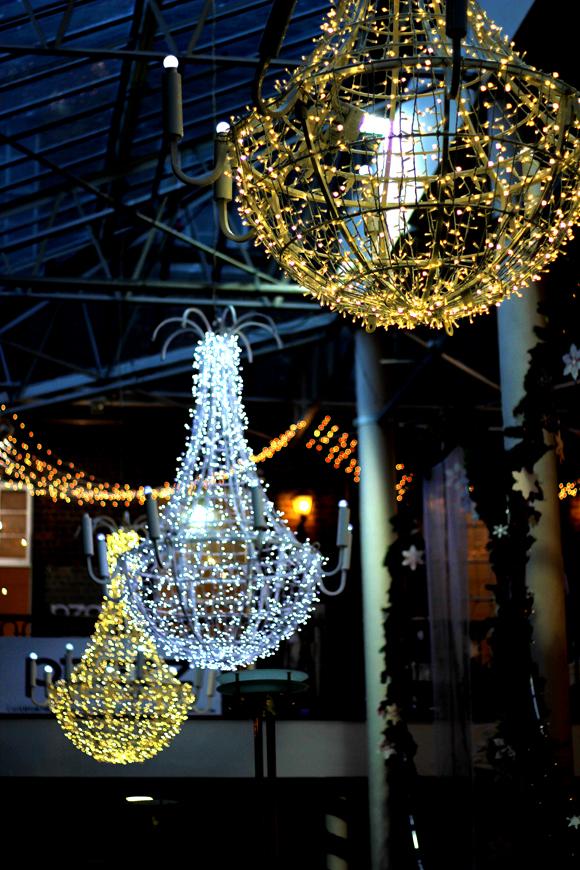 Natale 2013, decorazioni a St. George Arcade market