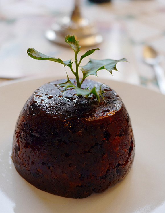 Christmas pud. Foto courtesy of Smabs Sputzer. Image in Creative commons.