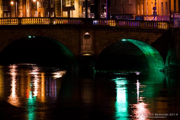 Ponte presso Arran Quay (foto Paolo Bergomi)