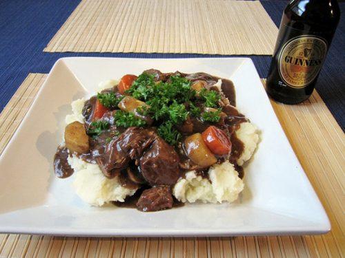10 modi diversi di cucinare con la Guinness