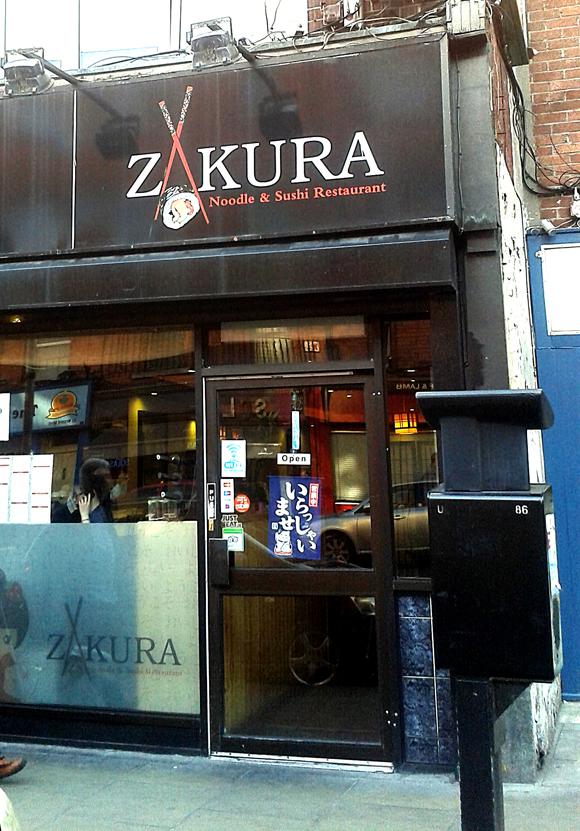 Zukura, cucina asiatica a Camden