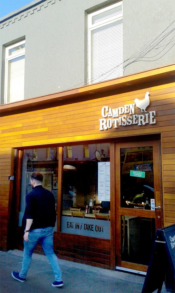 Rotisserie, pollo e altro a Camden
