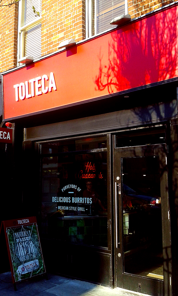 Tolteca , mexican take away a Dublino