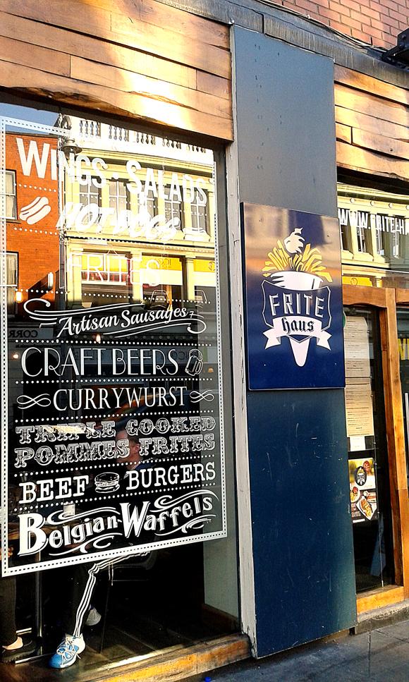 Frite Haus, cucina belga a Camden