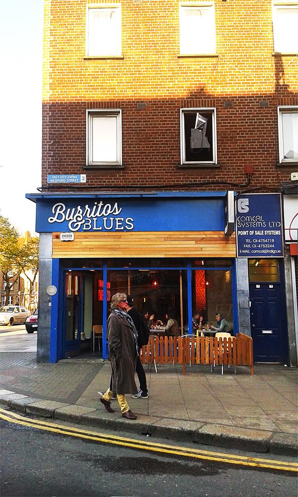 Burritos' blues, altro locale messicano a Camden