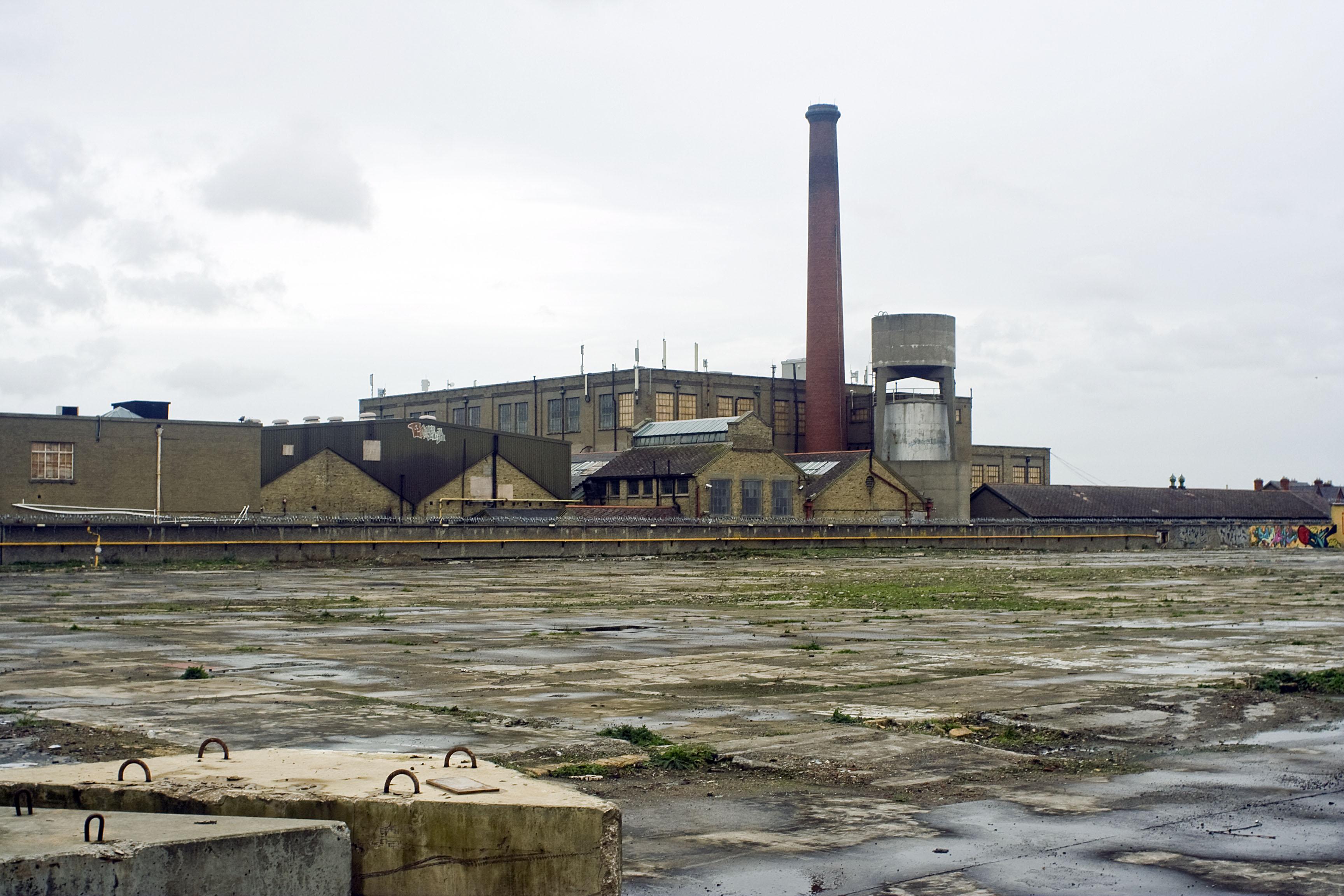 Glasnevin, veduta sulla zona industriale