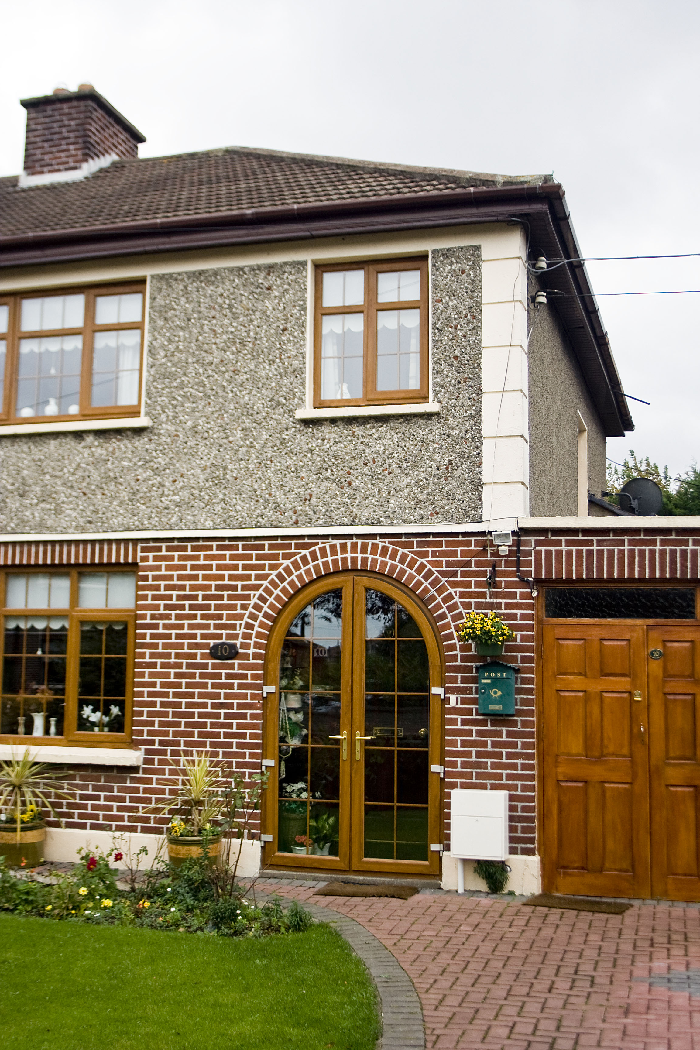 La casa di infanzia di Bonovox a Ballymun, Dublino nord.