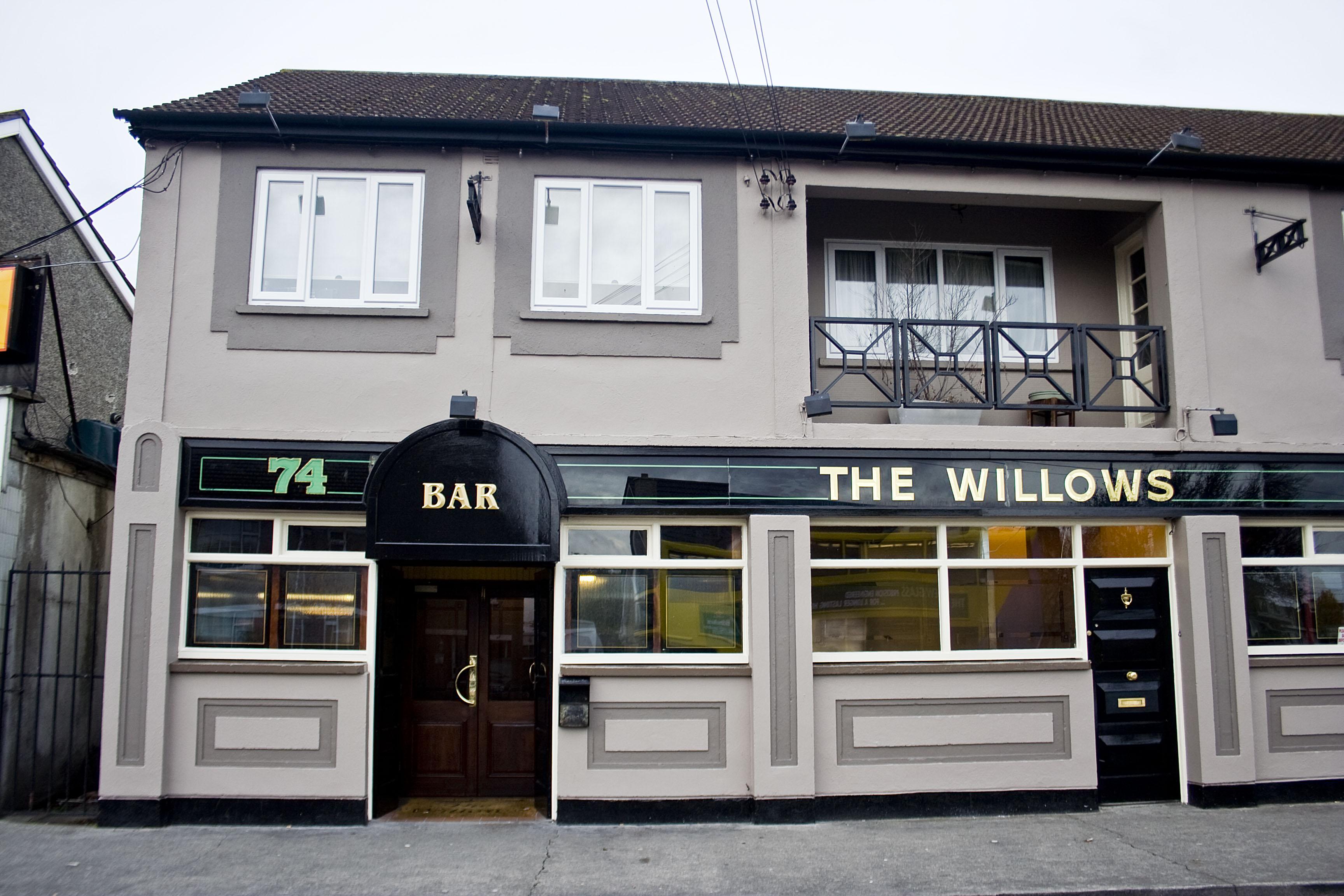 """.Ballymun, """"Willows"""" pub sempre nello stesso quartiere della casa natale, dove Bonovox ha lavorato da ragazzo"""