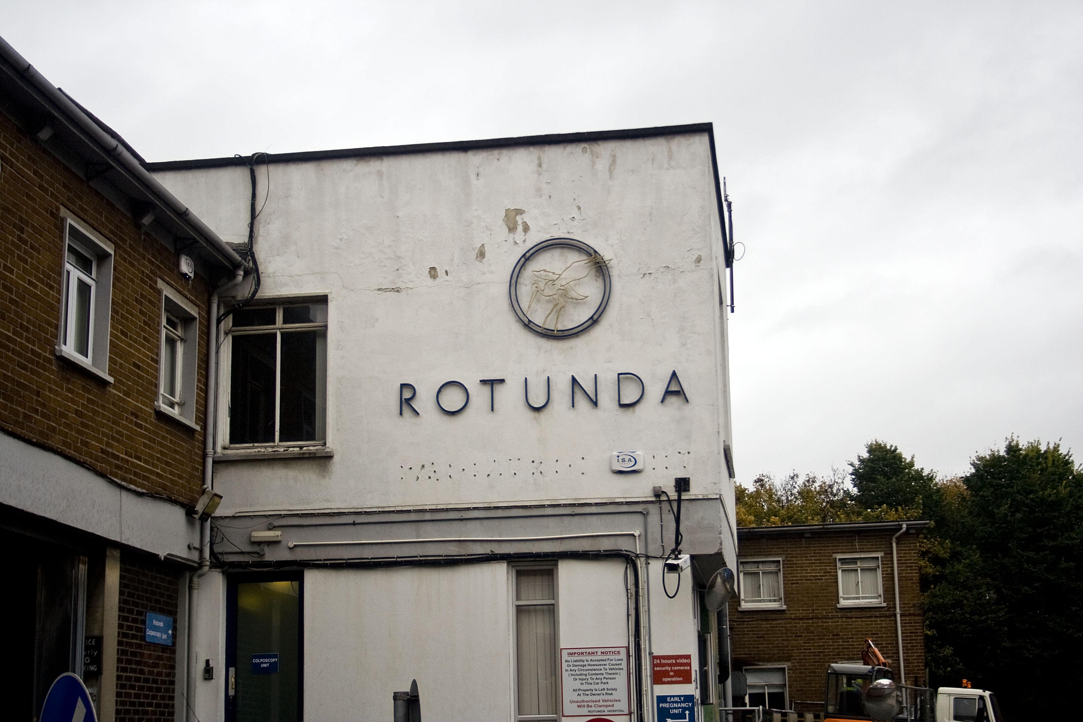 Rotunda hospital, ospedale natale di Paul Hewson in arte Bonovox in pieno centro, nella zona della famosa O'Connell street, la via principale di Dublino