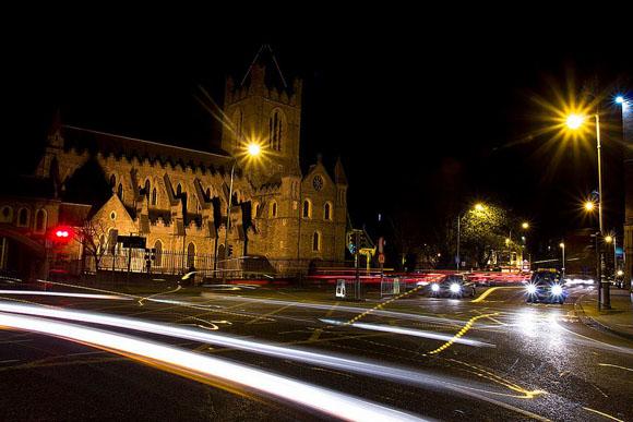 Dublino, Christchurch, 2013, notturno