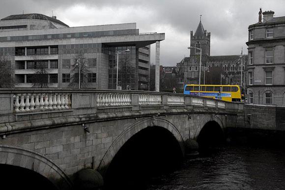 O'Donovan Rossa Bridge, Wood quay., Dublino