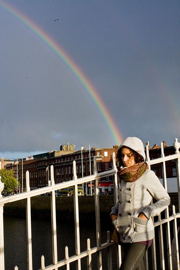 Arcobaleno e Half penny bridge, 2010