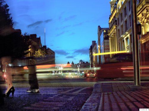 Immagini di Dublino – 3. Una notte in O'Connell street (2010)