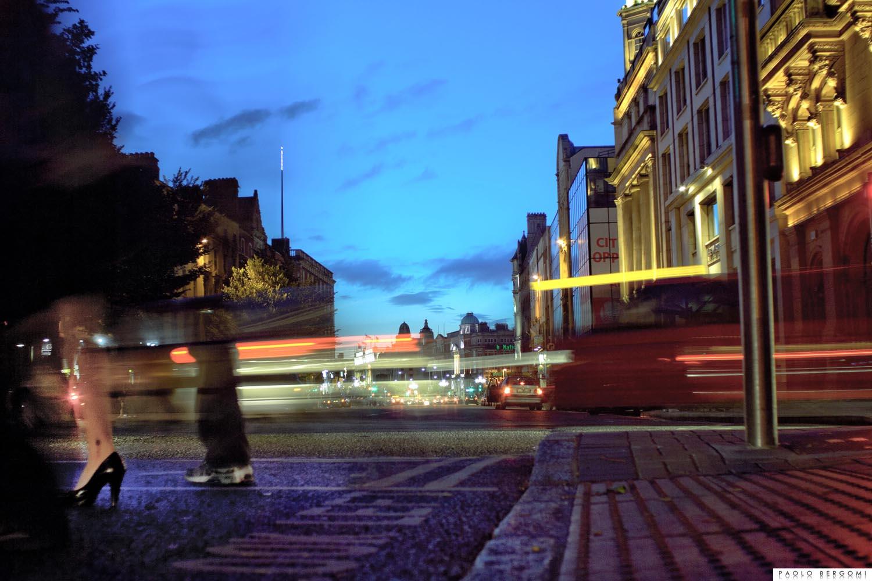 Dublino, Oconnell Bridge, Giugno 2010