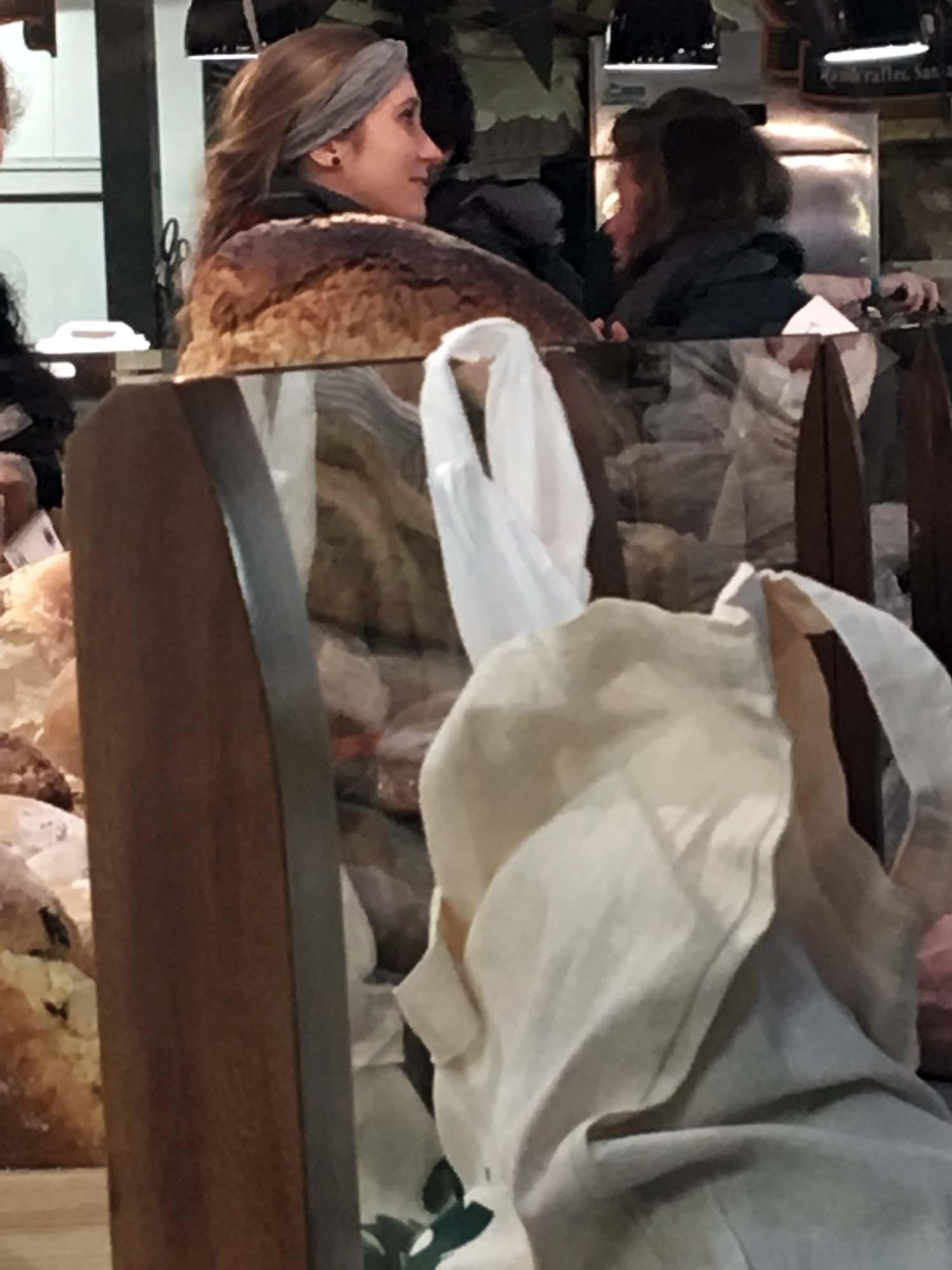 The Woman in Bread