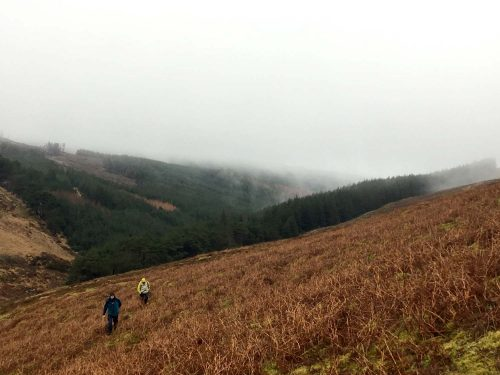 Hiking sulle Galtee mountains