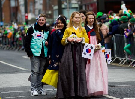 La Parata di San Patrizio 2018 a Cork