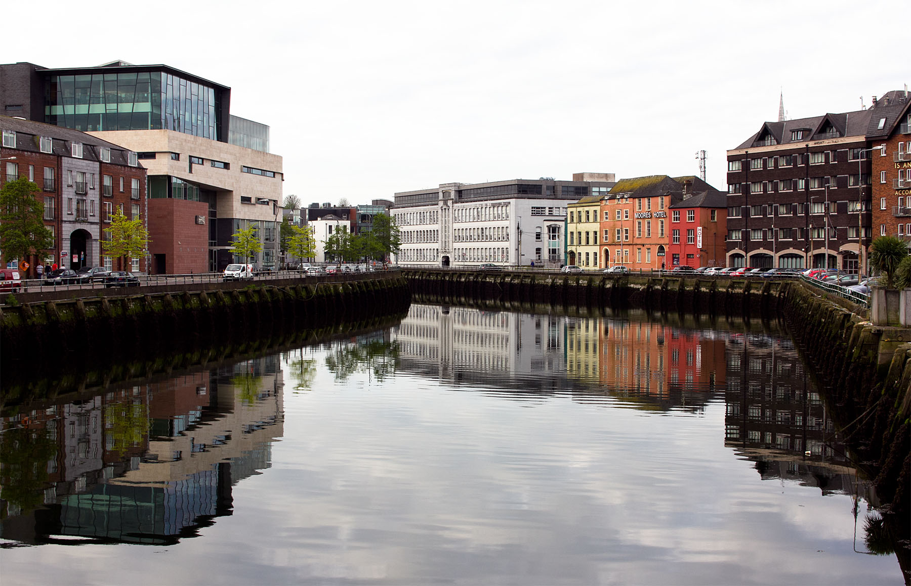 Cork, panorama sul fiume Lee
