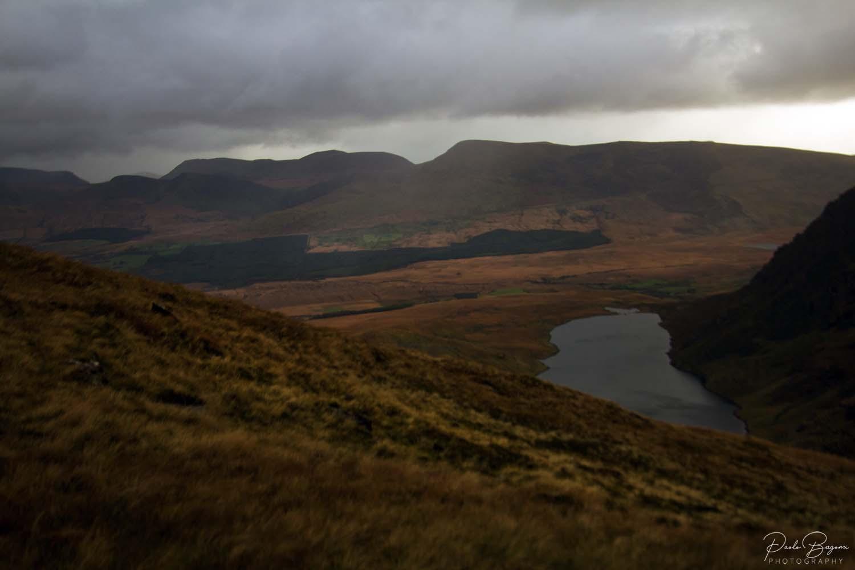 Panorama durante il trekking