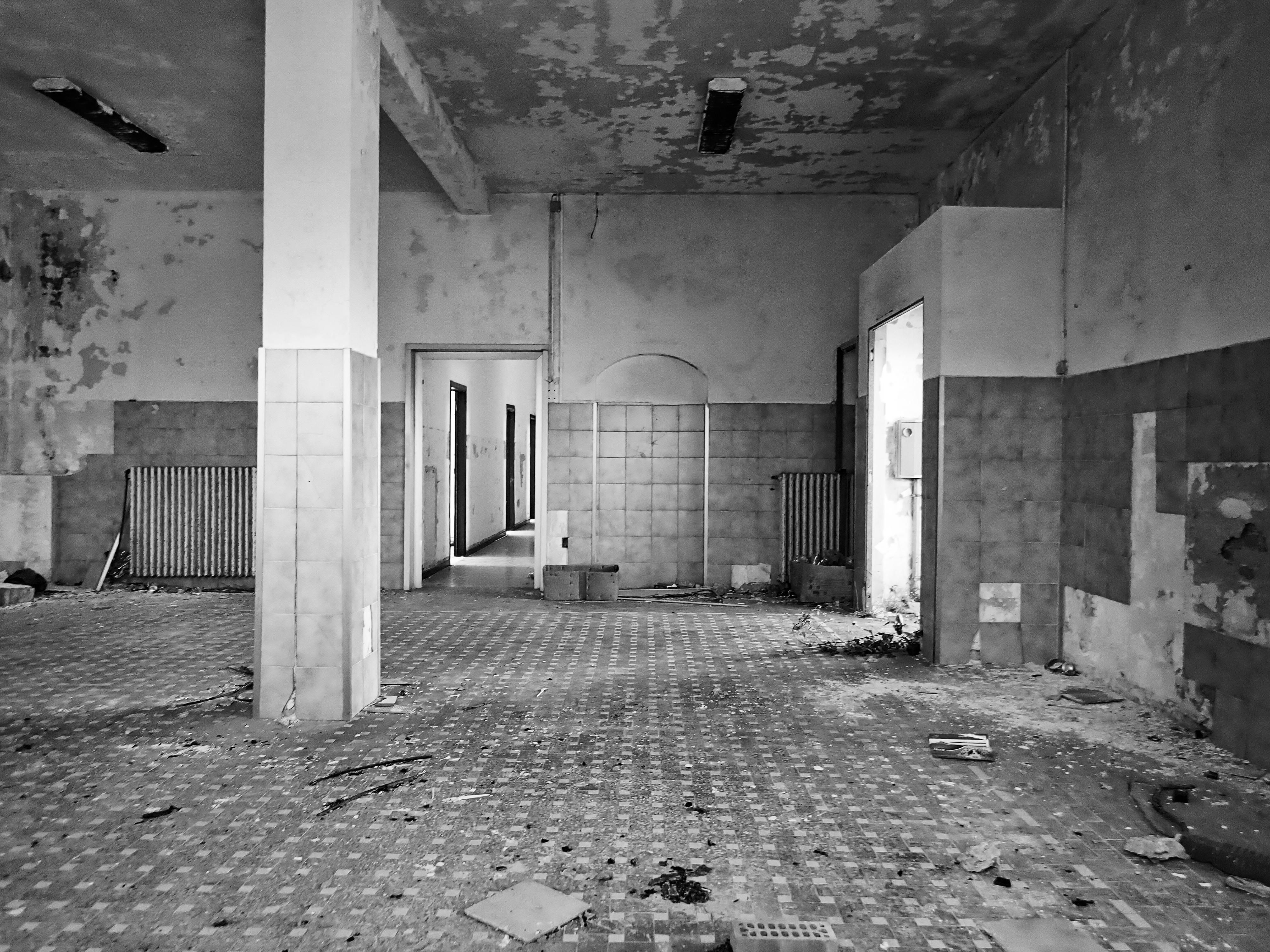 interni in bianco e nero