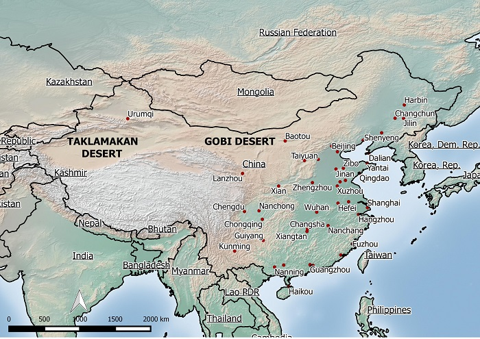 Cartina Climatica Cina.Scopri Che Tempo Fa In Cina Con Gli Hanzi Www Hanzi It