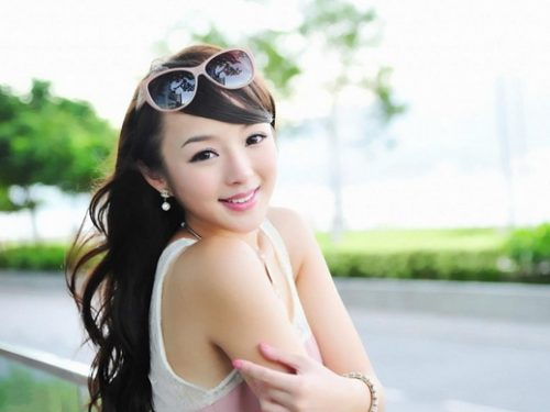 Una ragazza cinese piàoliang!