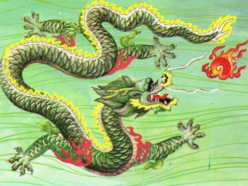 La Cina e i suoi draghi: 龙