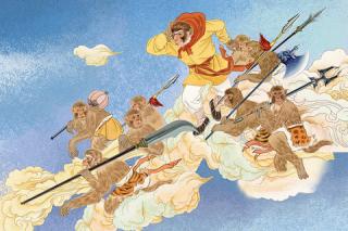 孙悟空 lo scimmiotto più famoso del mondo | Hanzi