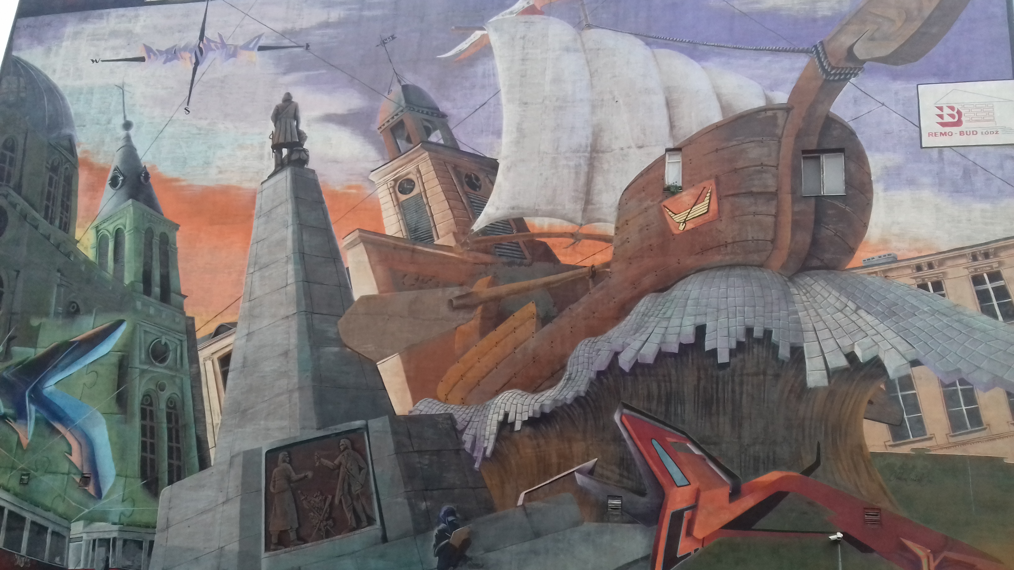 The White Factory And The Murals Of Lodz