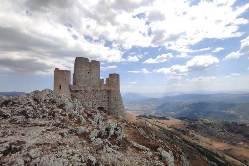 Rocca Calascio il Castello d'Abruzzo