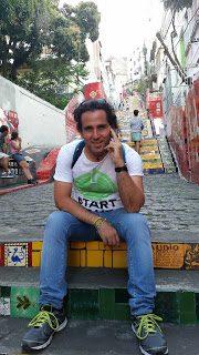 Rio de Janeiro, seconda tappa Scalinata Selaron