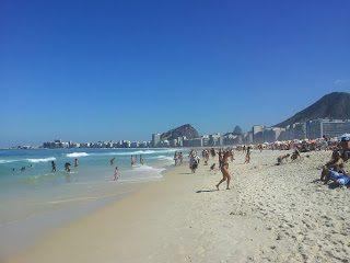 Rio de Janeiro, terza tappa Copacabana