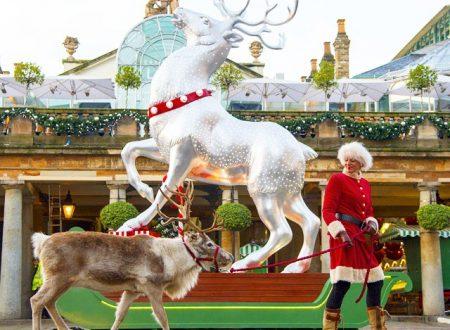 Luci, alberi e renne: i classici del Natale 2014 a Londra