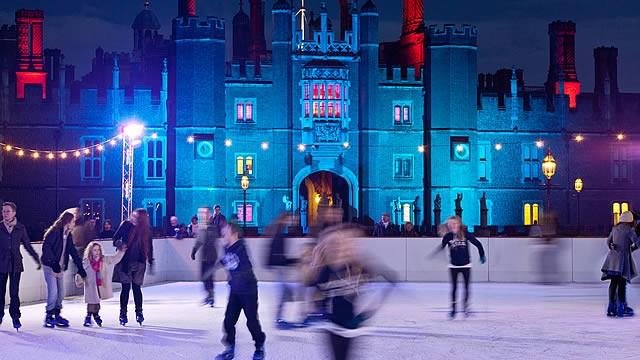 hampton court skating