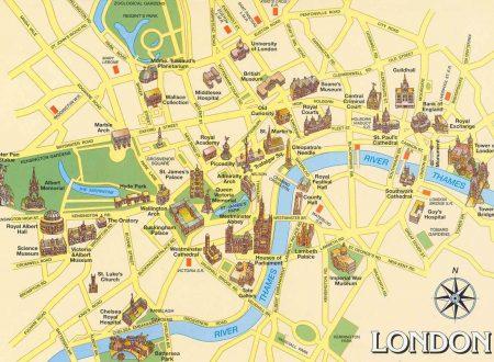 Cos'è il centro di Londra (se esiste)