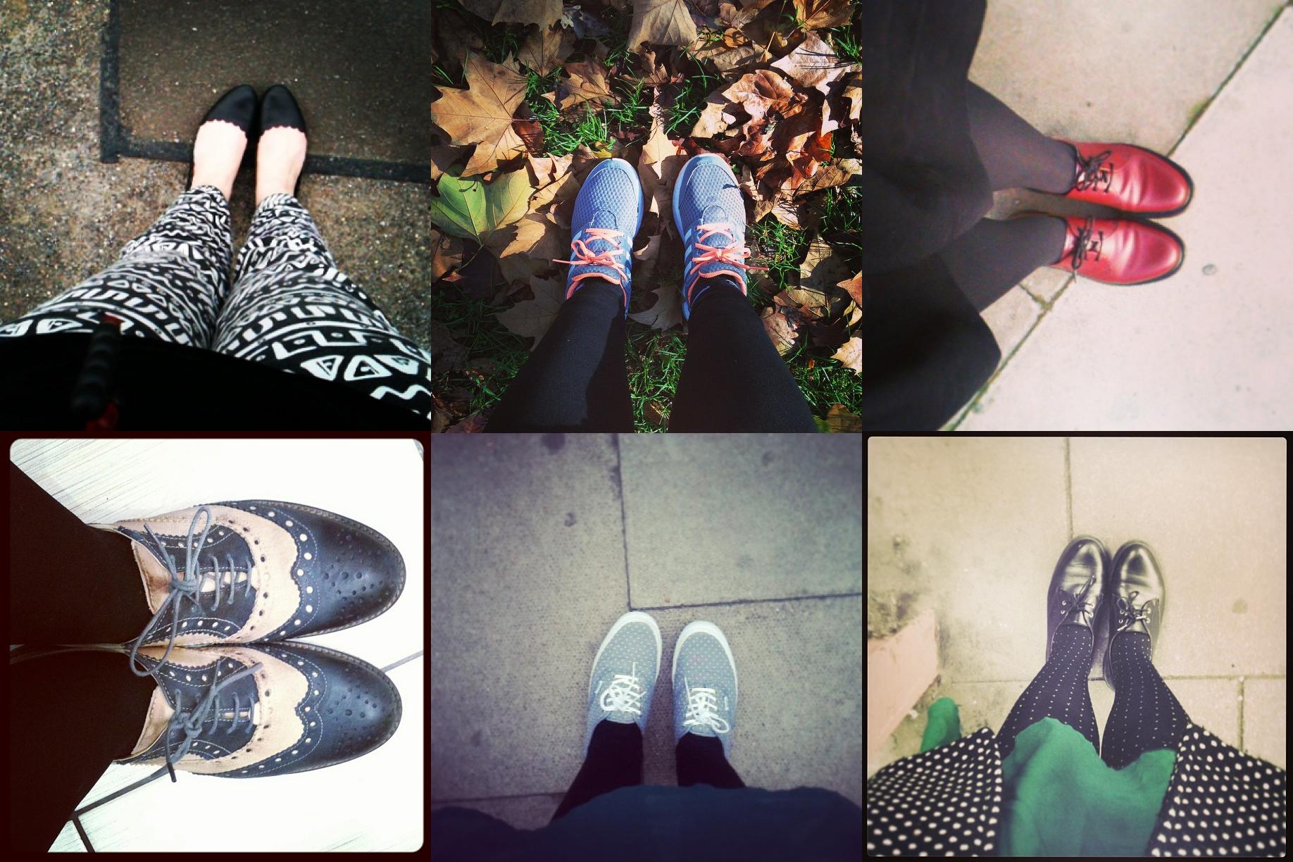 consigli londra scarpe comode