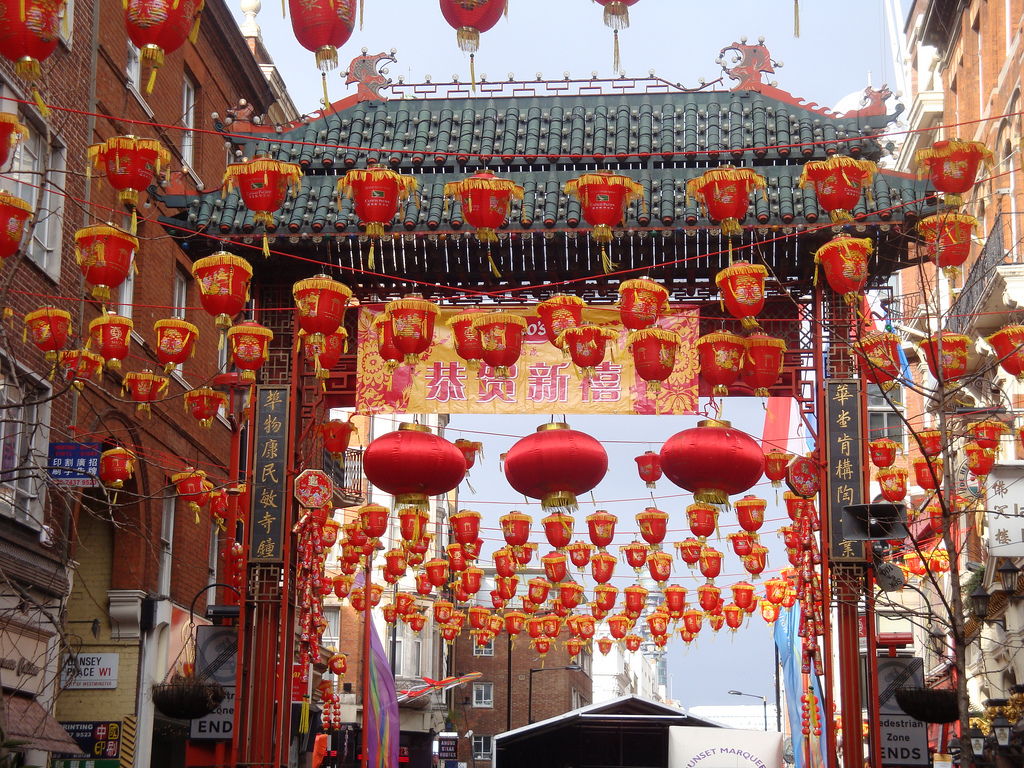 Chinese new year, London Chinatown by Julie Kertesz, on Flickr