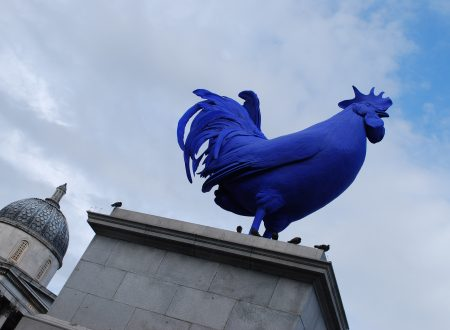 Addio, gallo blu gigante: il Fourth Plinth di Trafalgar Square