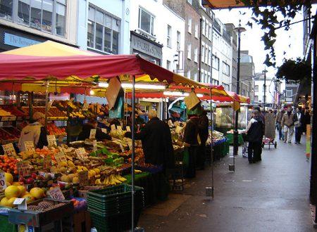 Dove comprare frutta e verdura a Londra