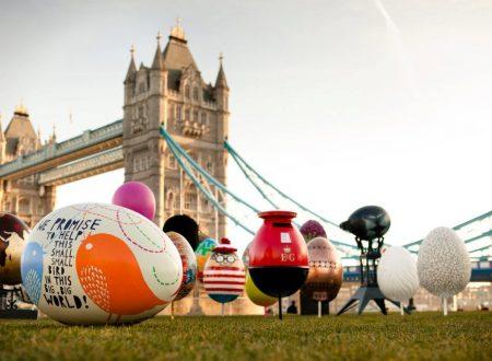 Pasqua a Londra vuol dire caccia alle uova!